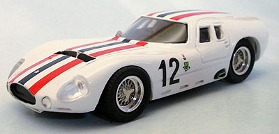 MASERATI TIPO 154 N° 12 TEST LE MANS 1965