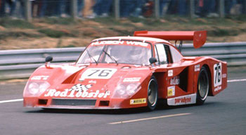 Porsche 935 Lola N° 76 Red Lobster Le Mans  1982