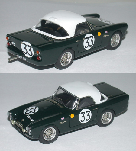 Sunbeam Alpine N. 33 Le Mans 1962