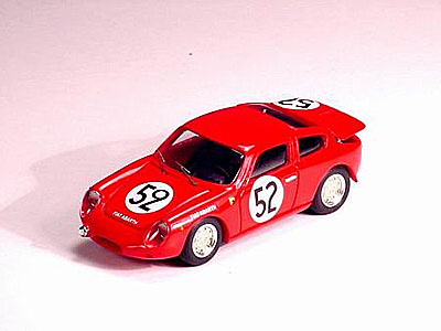 FIAT ABARTH 700 S N 52 LE MANS 1962